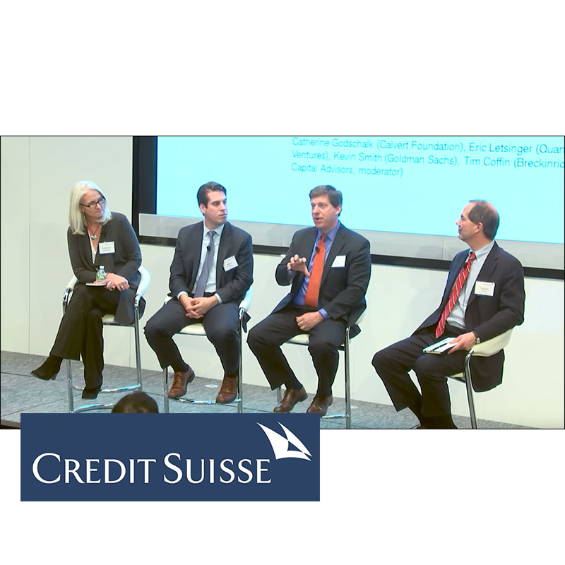 4th Annual Credit Suisse Conservation Finance Conference