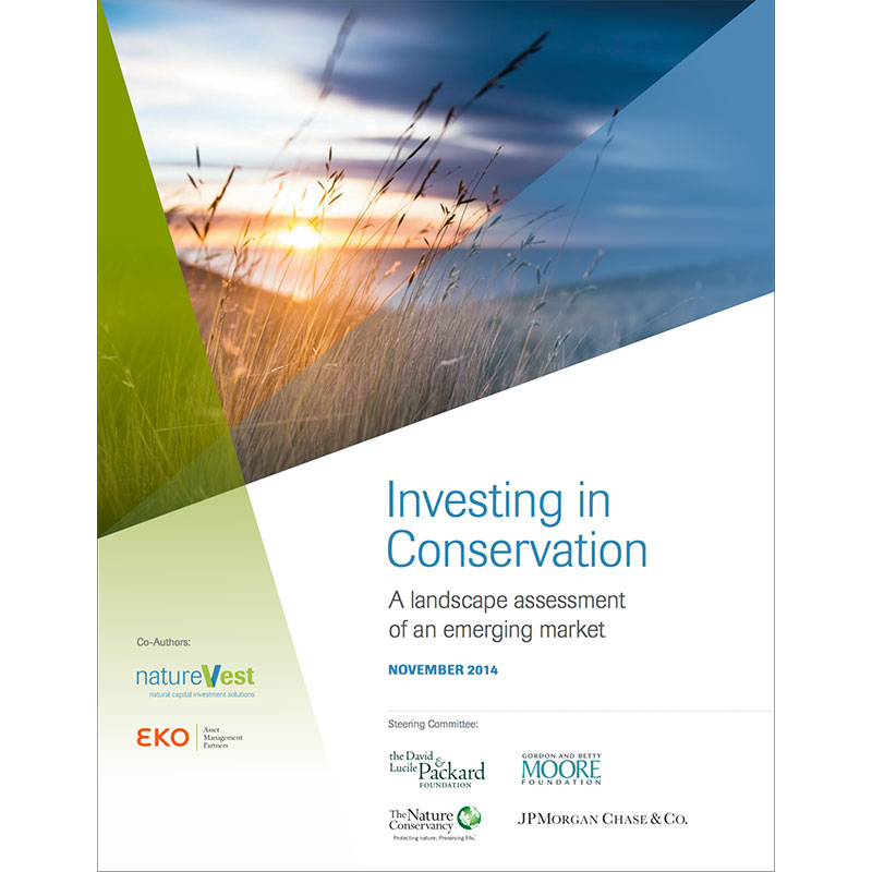 Investing in Conservation: A Landscape Assessment of an Emerging Market
